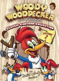 Woody Woodpecker and Friends Vol 2 - (Region 1 Import DVD)