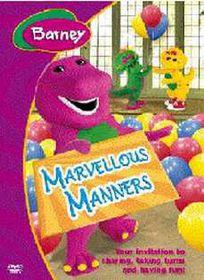 Barney's Marvellous Manners - (DVD)