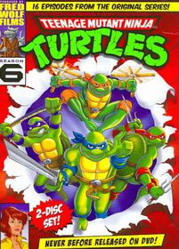 Teenage Mutant Ninja Turtles Season 6 - (Region 1 Import DVD)