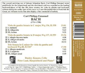 Kouzov, Dmitry - Viola Da Gamba Sonatas (CD)