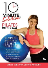 10 Minute Solution:Pilates on the Bal - (Region 1 Import DVD)