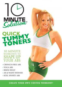 10 Minute Solution:Quick Tummy Toners - (Region 1 Import DVD)