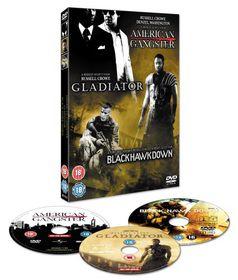 American Gangster / Gladiator / Black Hawk Down - (Import DVD)