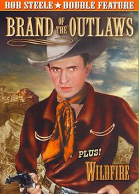Bob Steele Double Feature:Brand of Th - (Region 1 Import DVD)
