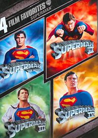 4 Film Favorite:Superman - (Region 1 Import DVD)