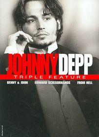Johnny Depp Triple Feature - (Region 1 Import DVD)
