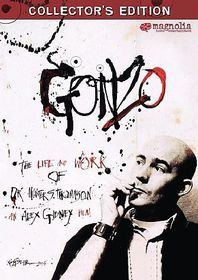 Gonzo:Life & Work of Dr Hunter S Thompson - (Region 1 Import DVD)