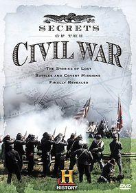 Secrets of the Civil War - (Region 1 Import DVD)