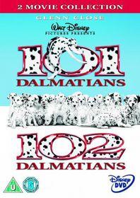 101 Dalmatians/102 Dalmatians - (Import DVD)
