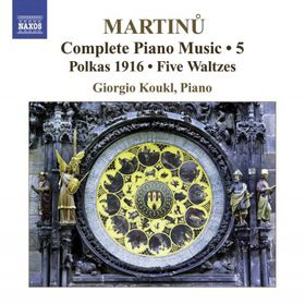 Martinu: Piano Music Vol 5 - Piano Music - Vol.5 (CD)