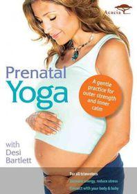 Prenatal Yoga with Desi Bartlett - (Region 1 Import DVD)