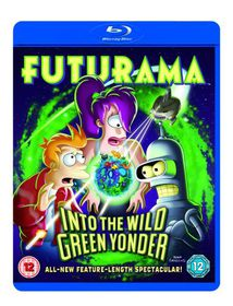 Futurama: Into the Wild Green Yonder - (Import Blu-ray Disc)