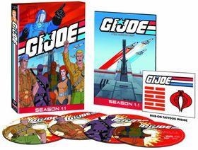 G.I. Joe Teal American Hero - Season One Part 1 - (Region 1 Import DVD)