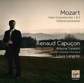Capucon Renaud - Violin Concertos Nos.1 & 2 (CD)