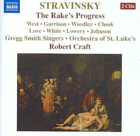 Stravinsky: The Rake's Progress - The Rake's Progress (CD)
