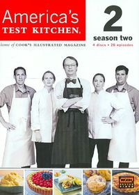 America's Test Kitchen Season 2 - (Region 1 Import DVD)