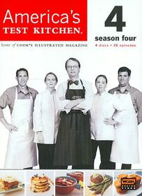 America's Test Kitchen Season 4 - (Region 1 Import DVD)