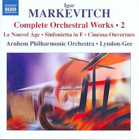 Markevitch: Orch Wrks Vol 2 - Orchestral Works - Vol.2 (CD)
