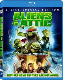 Aliens in the Attic - (Region A Import Blu-ray Disc)