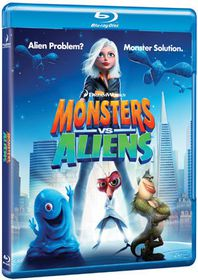 Monsters vs Aliens - (Import Blu-ray Disc)