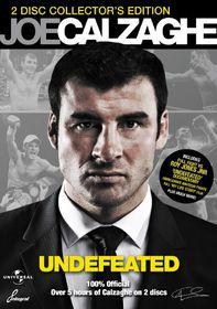Joe Calzaghe: Undefeated - (Import DVD)