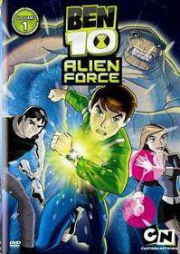 Ben10 Alien Force Season 1 Vol 1 - Cartoon Network Series Ep 1-5 (DVD)