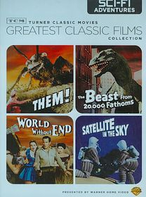 Tcm Classic Films:Sci Fi Adventures - (Region 1 Import DVD)