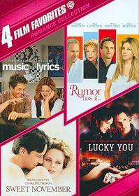 4 Film Favorites:Romance Collection - (Region 1 Import DVD)