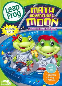 Leapfrog:Math Adventure to the Moon - (Region 1 Import DVD)