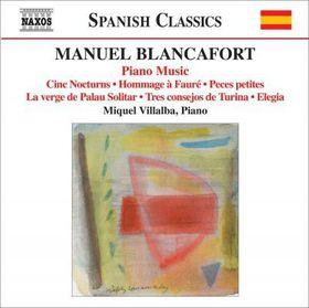 Blancafort: Piano Music - Piano Music (CD)