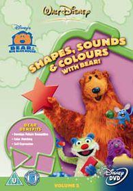 Bear/Big Blue House-Shapes,Sou - (Import DVD)