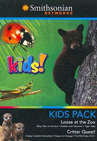 Kids Pack:Loose at the Zoo - (Region 1 Import DVD)