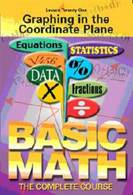 Basic Maths: Graphing in the Coordinate Plane - (Import DVD)