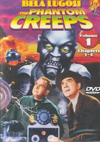 Phantom Creeps Vol. 1 Chapters 1-6 - (Region 1 Import DVD)
