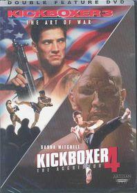Kickboxer 3:Art of War/Kickboxer 4 - (Region 1 Import DVD)