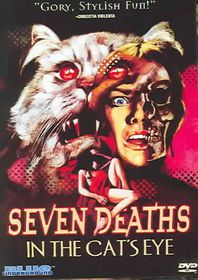 Seven Deaths in the Cat's Eye - (Region 1 Import DVD)