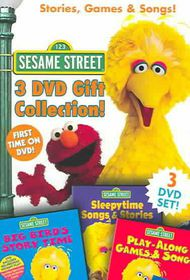 Sesame Street: Stories, Games and Songs Box Set - (Region 1 Import DVD)