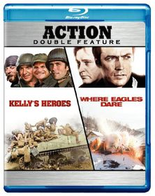 Kelly's Heroes/Where Eagles Dare - (Region A Import Blu-ray Disc)