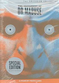 Testament of Dr Mabuse - (Region 1 Import DVD)