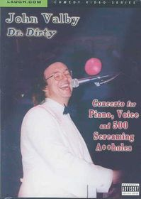 John Valby - Concerto for Piano, Voice & 500 Screaming A**holes - (Region 1 Import DVD)