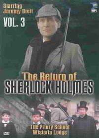 Return of Sherlock Holmes:Priory - (Region 1 Import DVD)