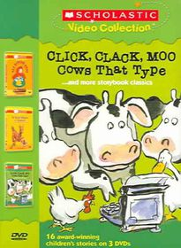 Click, Clack, Moo: Cows That Type/Is Your Mama a LLama?/Red Riding Hood - (Region 1 Import DVD)