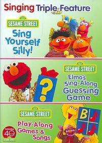 Sesame Street:Sing and Play Triple Fe - (Region 1 Import DVD)