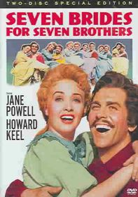 Seven Brides for Seven Brothers - (Region 1 Import DVD)