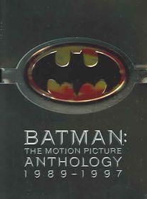 Batman: The Motion Picture Anthology 1989-1997 - (Region 1 Import DVD)