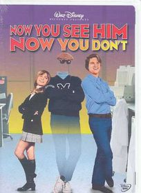 Now You See Him Now You Don't - (Region 1 Import DVD)