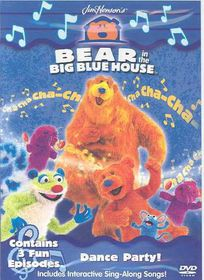 Bear in the Big Blue House - Dance Party! - (Region 1 Import DVD)