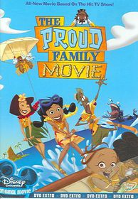 Proud Family Movie - (Region 1 Import DVD)