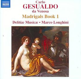 Gesualdo: Madrigals Book 1 - Madrigals - Book 1 (CD)