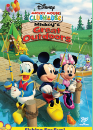 Mickey Mouse Clubhouse Mickey's Great Outdoors (DVD)